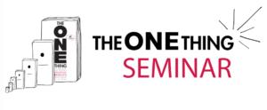 ONE Thing Seminar Graphic