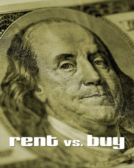 Picture of Ben Franklin Rent vs. Buy a Home