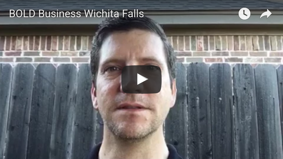 Image of Tim Lockhart Wichita Falls REALTOR describing BOLD Business