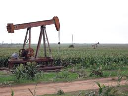 Picture of oil derrik in Burkburnett TX