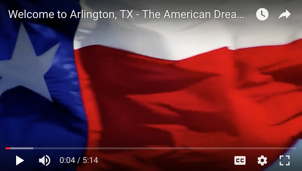 Welcome to Arlington TX Video