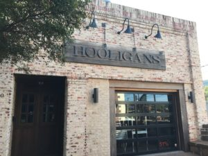 Picture of outside Hooligan's great venue for live music in Arlington TX